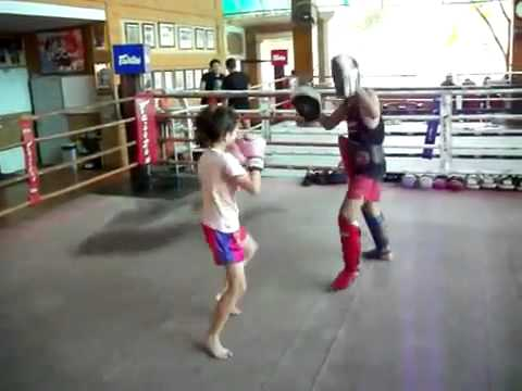 9 Year Old Girl Kick-boxer Can Kick Some Ass! Image 1