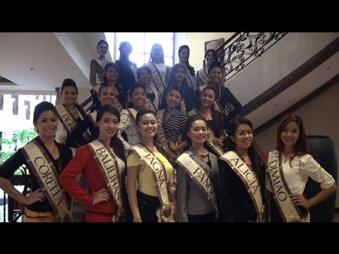 CANDIDATES FOR MISS BOHOL 2015 PRESENTATION AT BELLEVUE RESORT