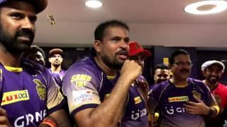 KKR vs DD | Post-Match Celebrations | Inside KKR | VIVO IPL 2017