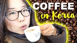 Famous Coffee Street in Korea ♦ CAFE HOPPING