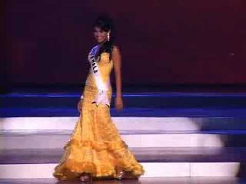 Guatemala - Miss Universe 2008 Presentation - Evening Gown