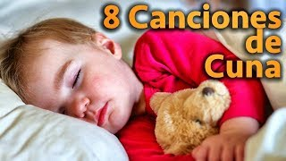 8 Canciones De Cuna Para Dormir Bebes Con Letra . Hermosas Melodias . Nanas para Niños
