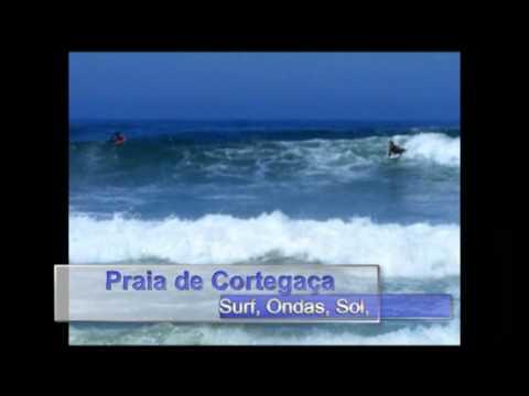 PRAIA DE CORTEGA�A - DIA DE SURF