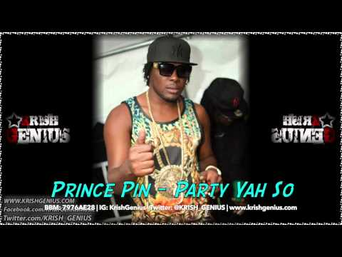 Prince Pin – Party Yah So – July 2014 | Reggae, Dancehall, Bashment