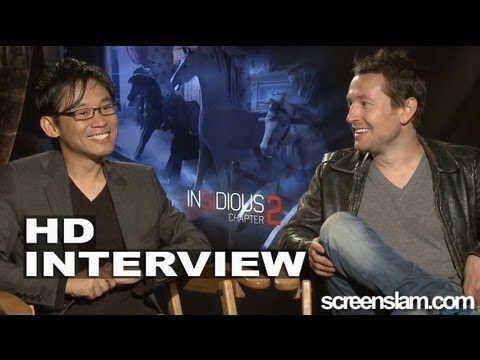 Insidious Chapter 2: James Wan And Leigh Whannell Interview