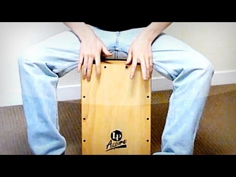 Cajon Beats: Finger Roll Technique