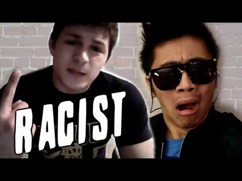 "Extremely Racist Indiana Kid; University student Samuel Hendrickson lists reasons of ""Why I'd Hate to be Asian"" and gets a video response from the Chinese Guy himself, Peter Chao. BOOMPHONES!..."