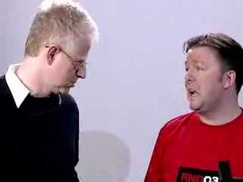 Ricky Gervais meets Richard Curtis
