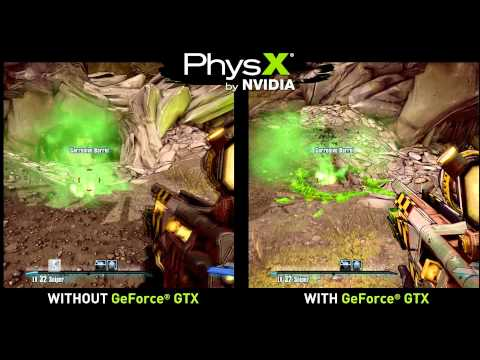Borderlands 2 GeForce GTX PhysX Trailer