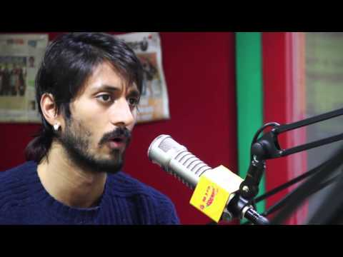 Actor Chetan promoting his movie MYNAA on Hi Bangalore with...