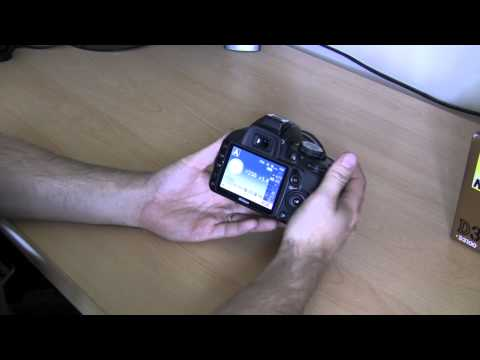 Nikon D3100 basic beginner operation guide Part 3. ISO