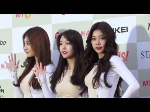 Girl's Day (걸스데이) @ Photowall of 4th Gaon Chart K-Pop Awards (가온차트)