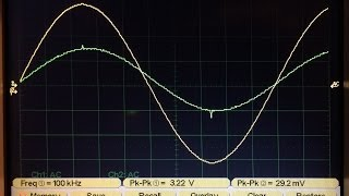 Capacitor ESR Measurement with Oscilloscope & Function generator - ENGLISH VERSION