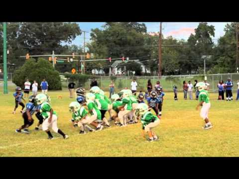 GMYFL 2012 GOTW Week# 4 Kingman Green Machine vs VA. Panthers 6U.