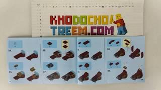 Hướng dẫn lắp ráp Lego Super Heroes MOC Sheng Yuan MK46 Iron Man giá sốc rẻ nhất