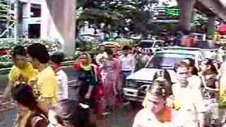 Ratha Yatra In Tailand on 9th July 2006