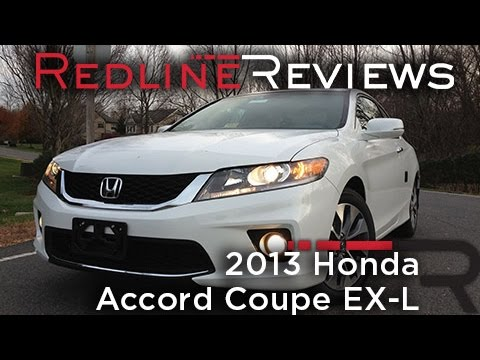 2013 Honda Accord Coupe EX-L Review. Walkaround. Exhaust. & Test Drive