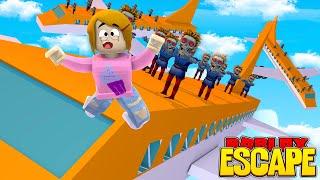 Roblox Escape Zombie Attack With Molly!