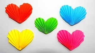 Origami Heart Easy to make / Decoration for Valentine's Day