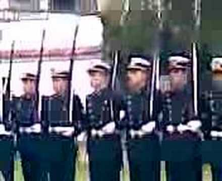 Marcha de la Armada, Cadetes ENM