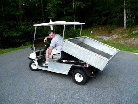 Dump Bed For Club Car Carryall