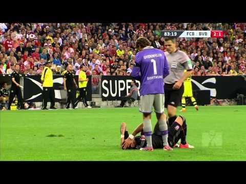 Mario Mandžukić vs Borussia Dortmund HD (12/08/12)