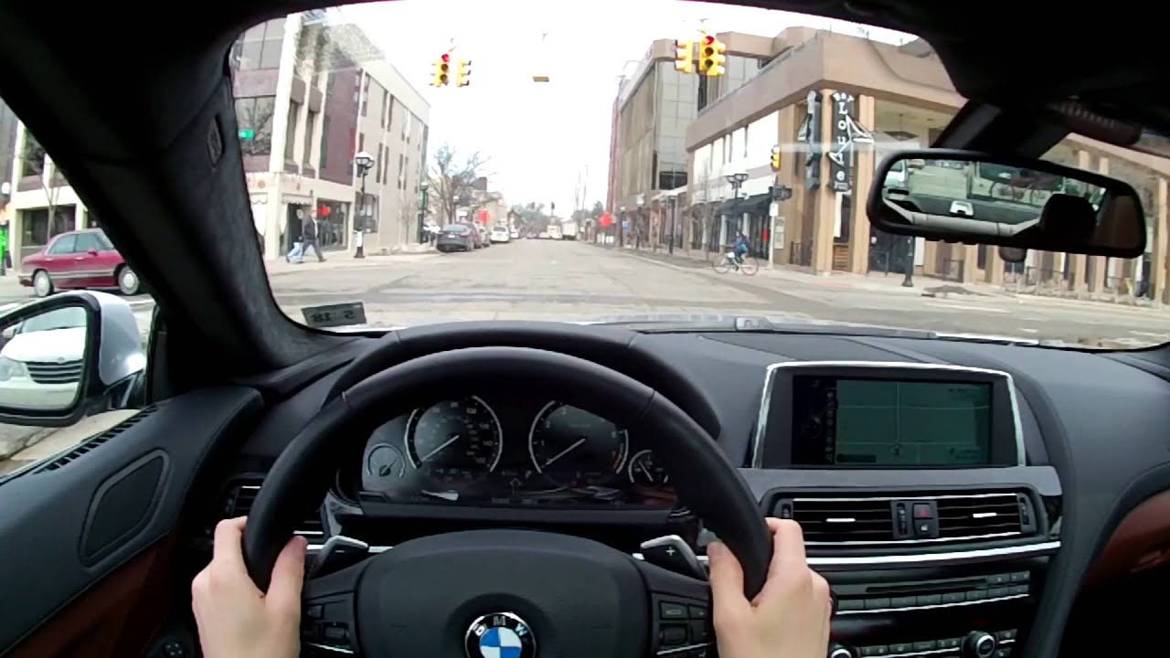 Porsche Driving Experience >> 2014 BMW 640i xDrive Gran Coupe - WR TV POV Test Drive 2 (City Driving) - YouTube