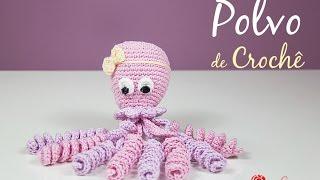 Polvo de Crochê para bebê prematuro com fio 100% algodão Simone Eleotério