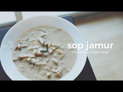 Resep Sop Krim Jamur Murah Untuk Sarapan #MAKANANKOS - SoundsFromTheKitchen