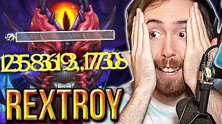 "Asmongold Reacts To ""Raid Boss One Shot [39 MILLION Stormstrike] [Drest'agath]"" 