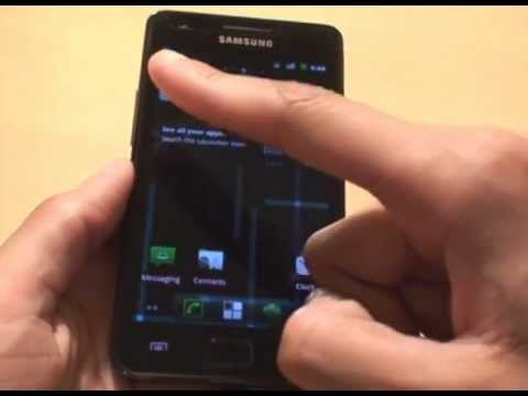 How to install CyanogenMod 7 (CM7) Custom Rom on Android Galaxy S2