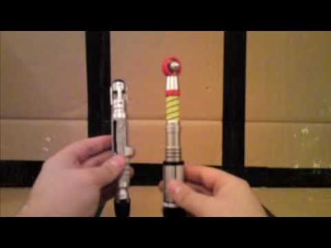 Doctor Who Third Doctor's Sonic Screwdriver Toy Review