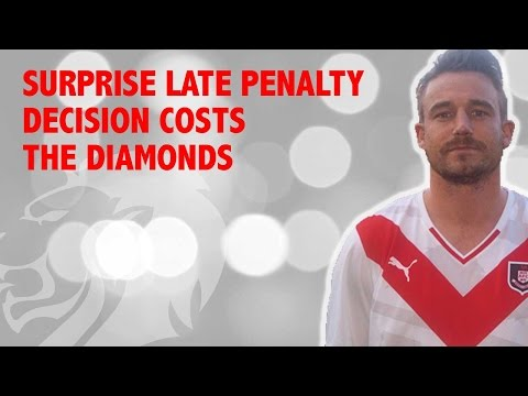 Parker penalty secures draw for Diamonds