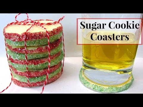 Christmas Cookie Drink Coasters | DIY Project | Another Coaster Friday | Craft Klatch | How To