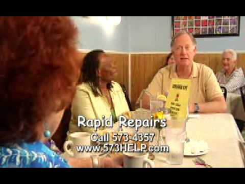 RAPID REPAIRS Sunflower restaurant.052110.wmv
