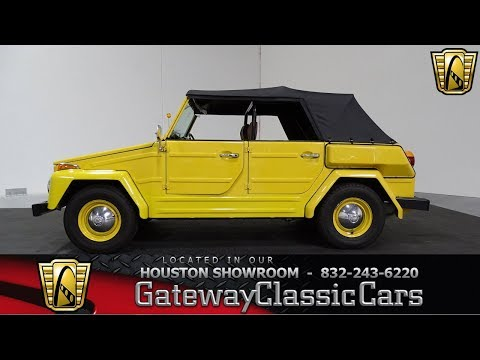 1974 Volkswagen Thing Gateway Classic Cars #886 Houston Showroom