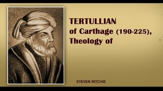 Video: Tertullian (240 AD), first used 'Trinity' to mean 3 distinct persons, influenced by Pagan Greek Philiosophy
