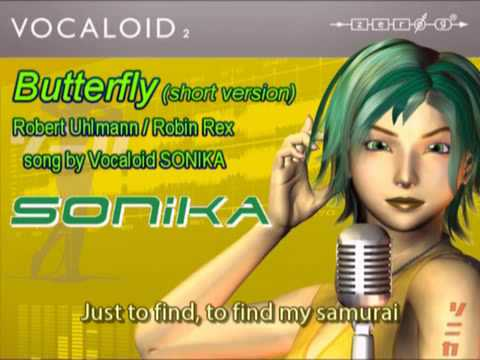 Butterfly (smile Dk ) By New Vocaloid Sonika ! video