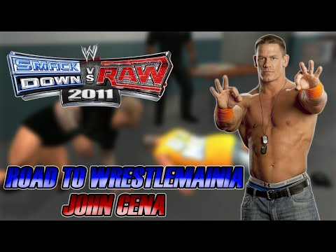 WWE SmackDown vs Raw 2011 - Road to Wrestlemania: John Cena - #04 - Orton Covarde