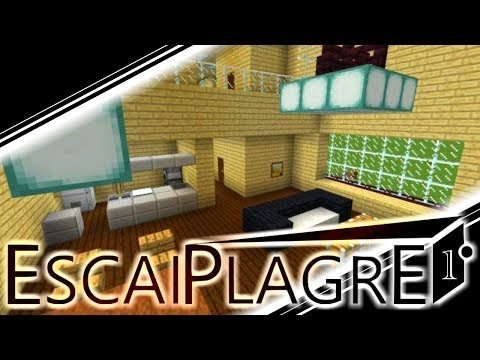 【Minecraft】とある家から脱出してみた!【エスケープラグリ】