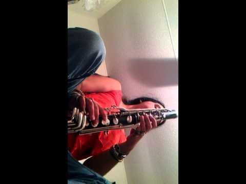 Rude on Bass clarinet