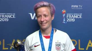 Megan Rapinoe – Player of the Match – USA v Netherlands