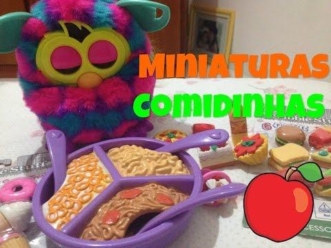 Minha Coleção de Miniaturas de Comidinhas! #1