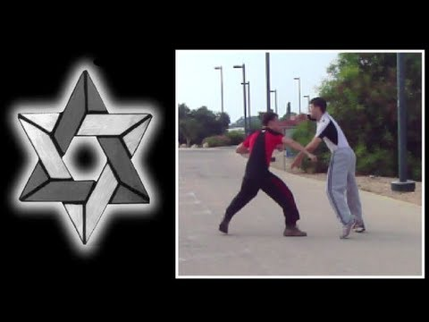 Israeli Krav Maga:  Knife Defense Series - Straight Knife Stab Defense Image 1