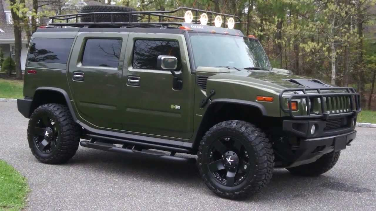 2003 luxury hummer luxary for sale sage green safari edition navigation dual dvds clean loaded. Black Bedroom Furniture Sets. Home Design Ideas