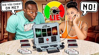 COUPLES LIE DETECTOR TEST (SHE WANTS HER EX BACK!!!!)