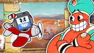 Cuphead - Djimmi the Great | GENIE BOSS ► Fandroid the Musical Robot!