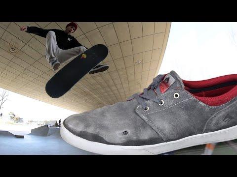 Emerica Figueroa Skate Shoes Wear Test Review - Tactics.com
