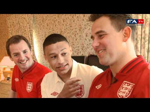 England Medical Team with Alex Oxlade Chamberlain | FATV
