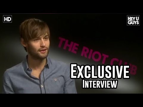 Douglas Booth Interview - The Riot Club